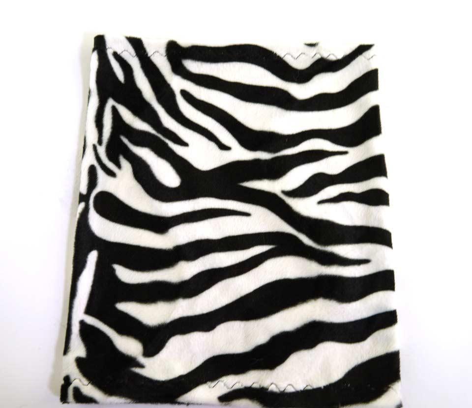 zebra lampebetræk sort og hvid
