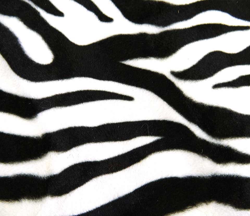 zebrabetræk til lampe